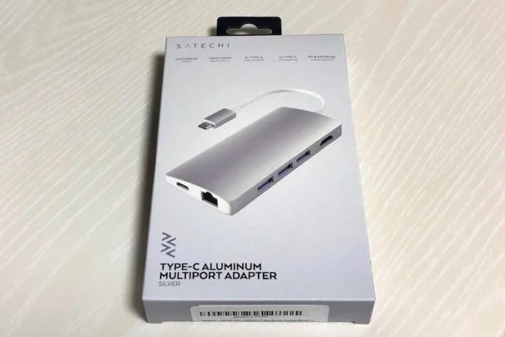 【レビュー】MacBookに必要なポートがすべて揃う全部入り「Satechi USB-Cマルチハブ」