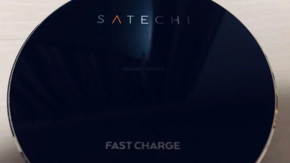 Satechi Qiワイヤレス充電器 パッド