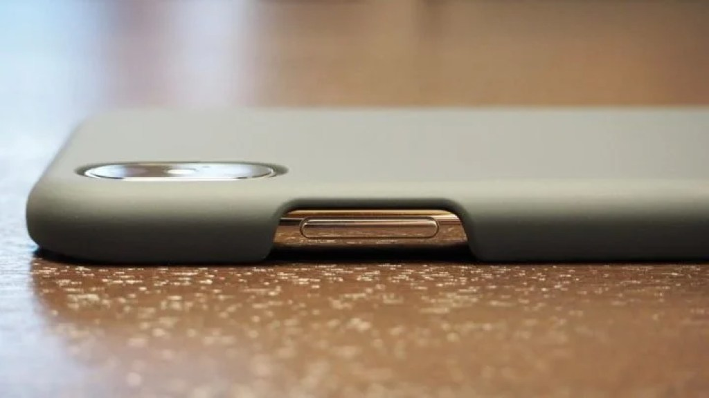 iPhone X用AndMesh Basic Case サイドボタン