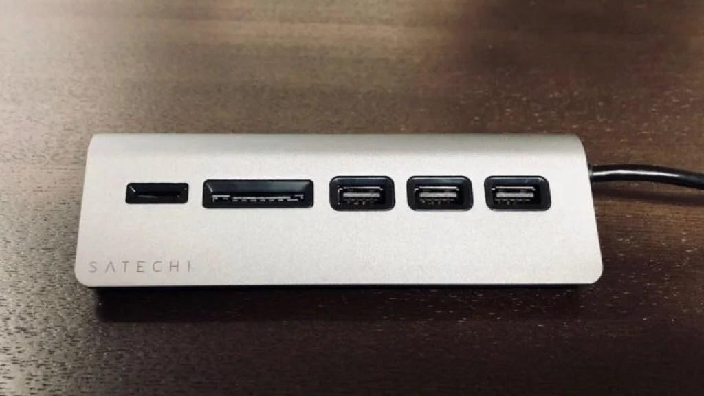 Satechi USBハブ&SDカードリーダー