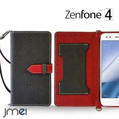 【JMEI】ケースを閉じたままでも通話可能な手帳型ケース