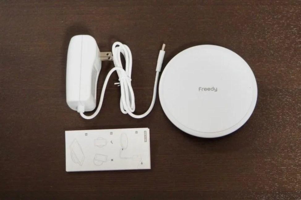 Freedy ワイヤレス充電器 パッケージ内容