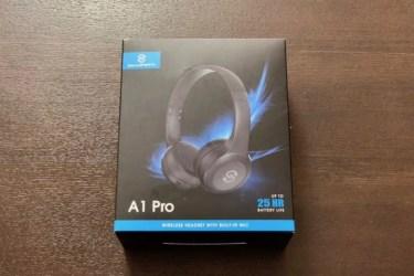 【レビュー】SoundPEATS「A1 Pro」はiPhoneと相性がいいBluetoothヘッドホン