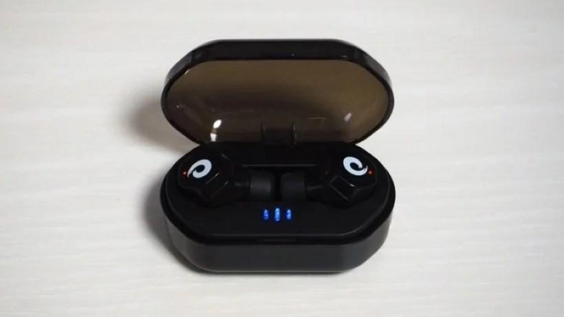 マグネット式の充電ケース