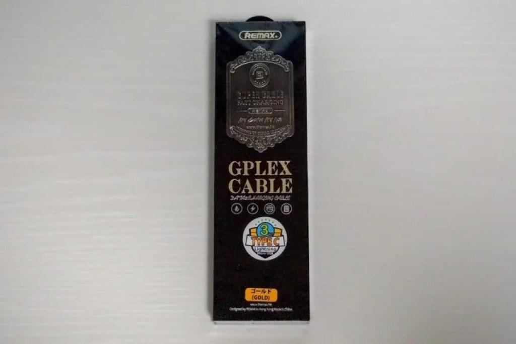 REMAX GPLEXの豪華な外箱
