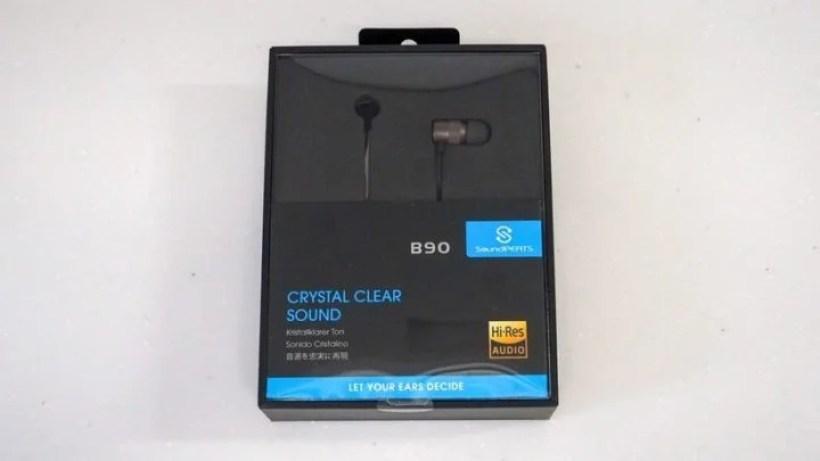 【レビュー】SoundPEATS B90でハイレゾを楽しめ!コスパ最強の有線イヤホン
