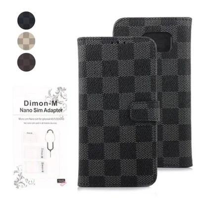 【Dimon-M】上品なデザインがおしゃれな手帳型ケース