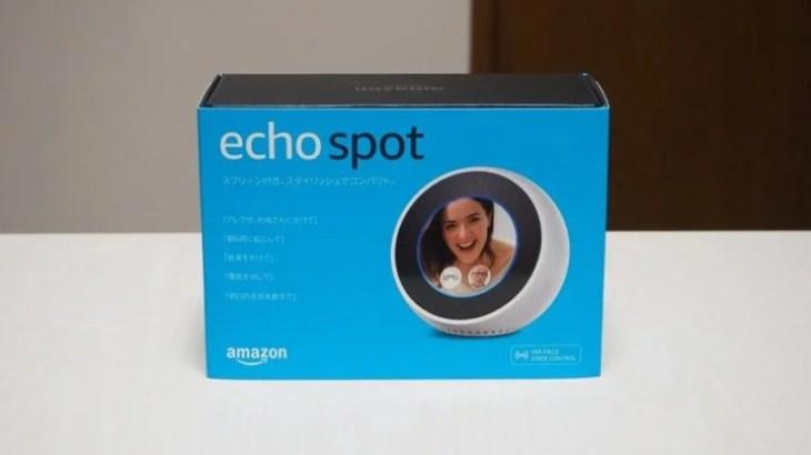 Echo Spotを実際に使ってみました