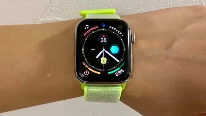 Apple Watch 4、気に入った!!