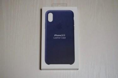 【レビュー】Apple純正「iPhone XSレザーケース」を買ってみた