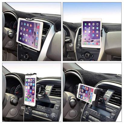 【Unique Spirit】車でもiPadを楽しむ!iPadも使える車載ホルダー
