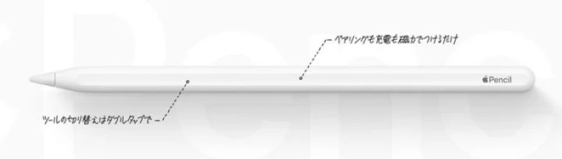 第2世代Apple Pencil