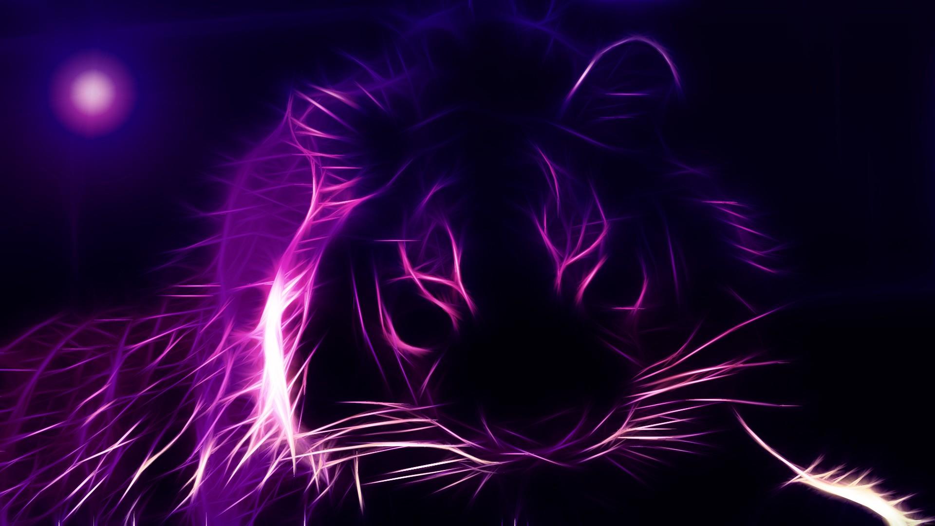 fractalius-purple-lions-1920x1080-px-wallpaper-colour-picture-purple-hd-wallpaper