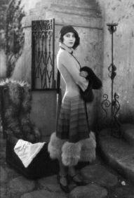 Greta Garbo filmed this scene