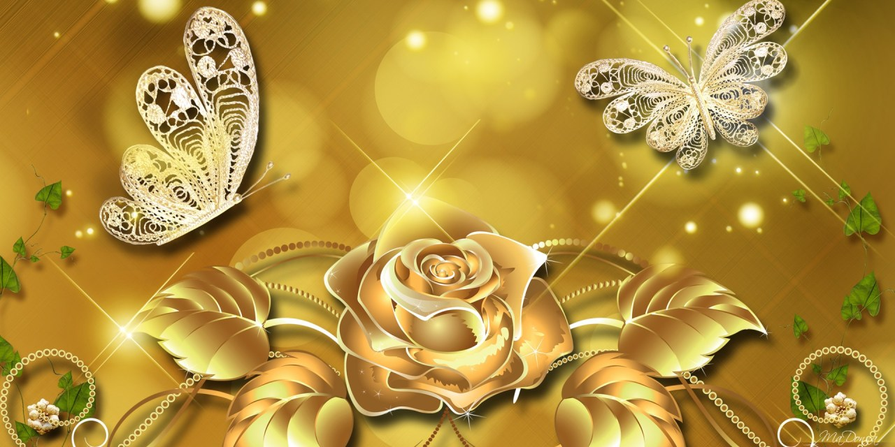The Color Wheel… Bowing to the Eternal Magnificence of Gold