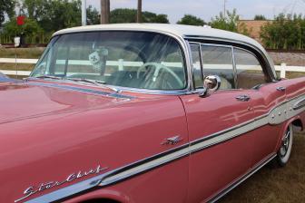 Pink Pontiac with Dice