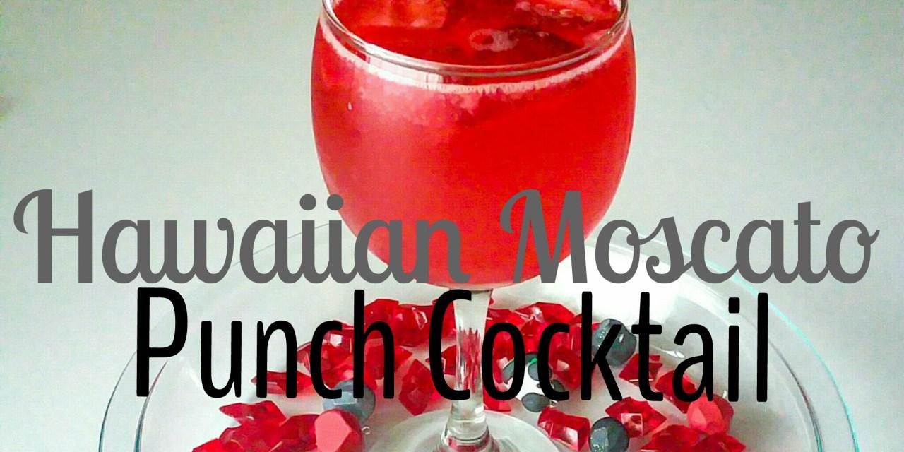Tipsy Tuesday… Hawaiian Moscato Punch Cocktail Drink
