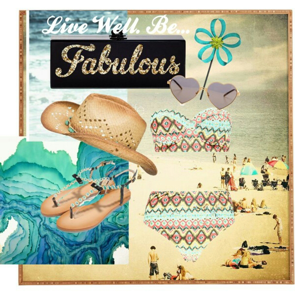Live Well. Be Fabulous… Beach Fashion 2015