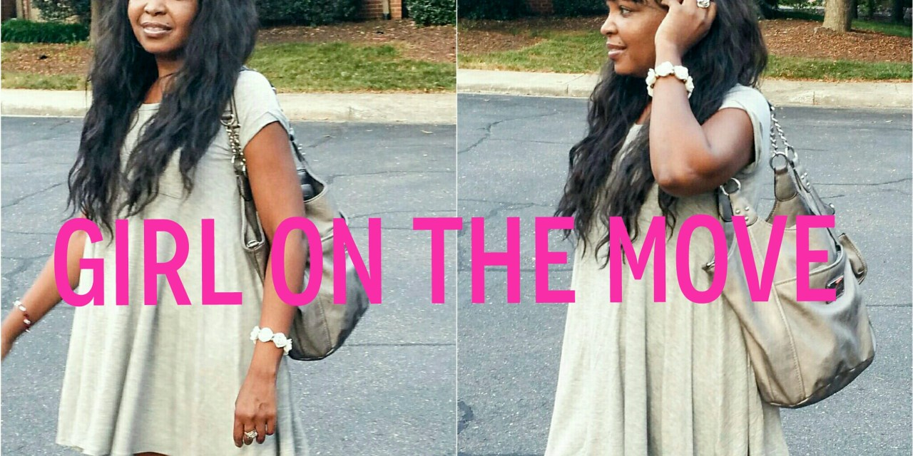 Fashion Friday… Girl on the Move