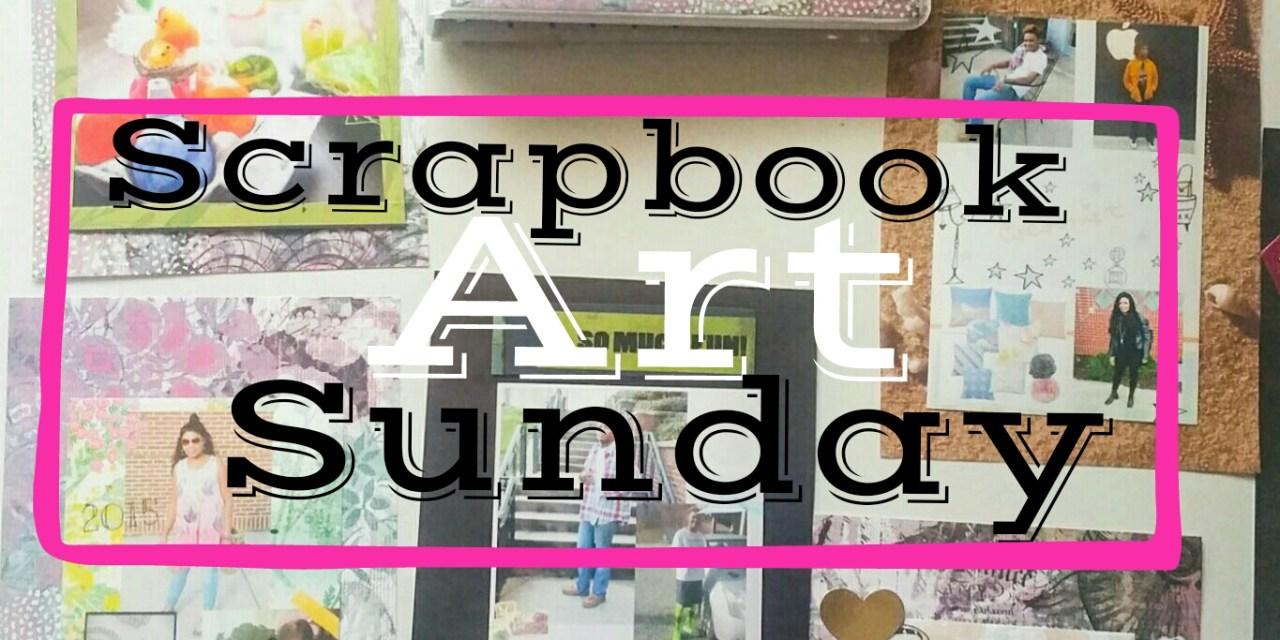 Scrapbook Art Sunday… A 2016 Planner for Inspiration