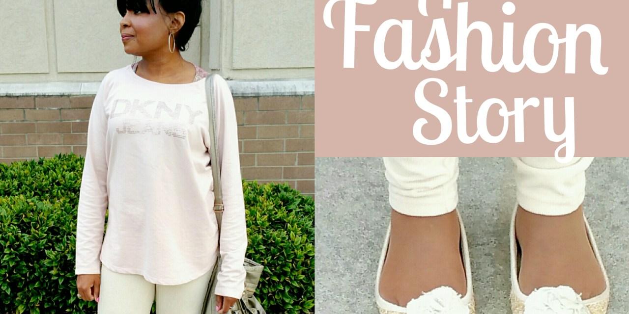 A Fashion Story Blush Pink DKNY Style