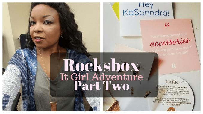 RocksBox It Girl Adventure Part Two