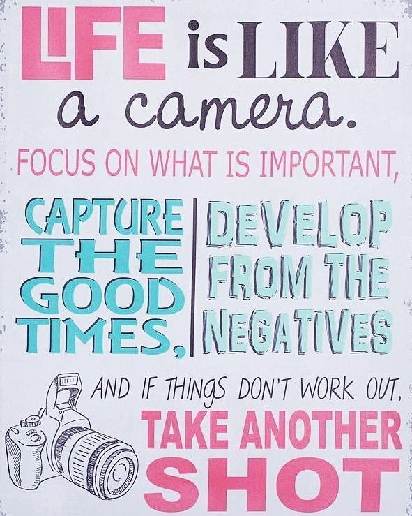 So slay it today! And use a digital camera sohellip