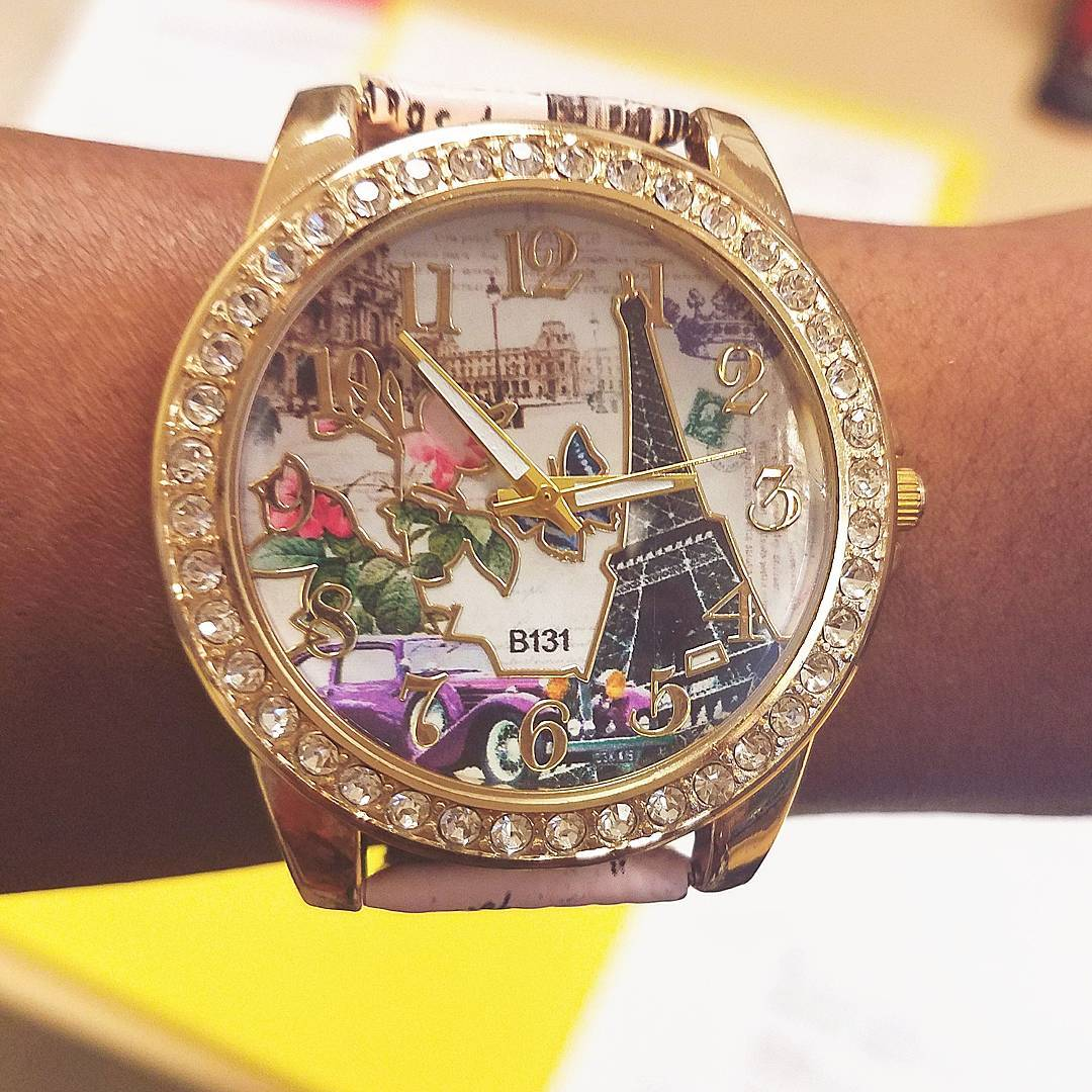 I am obsessed with watches! Found this pretty little Parisianhellip