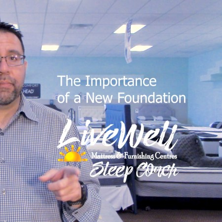 Live Well Mattress & Furnishing Centres Sleep Coach Javier Casillas speaking about box springs and mattress foundations