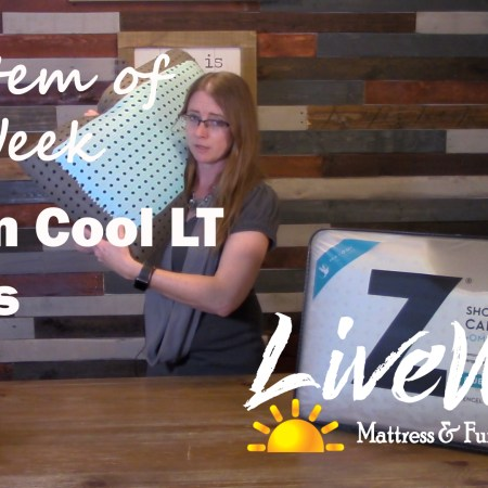 Melanie Keithley on New Item of the week LT Carbon Cool Pillow
