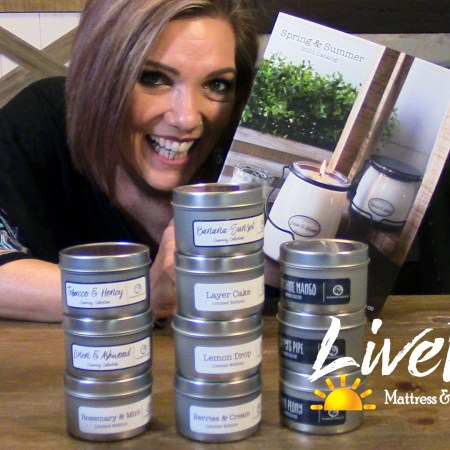 Milkhouse Candle Co unboxing the new scents