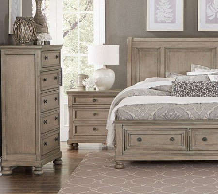 Bethel Nightstand at Live Well Mattress Furnishing Centres
