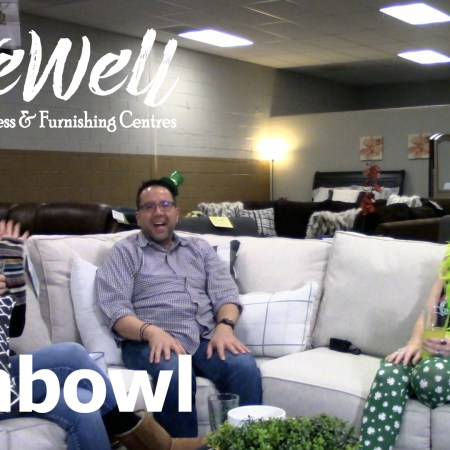 Javier Casillas, Gretchen Casillas, and Melanie Keithley of Live Well Mattress & Furnishing Centres on Fish Bowl the weekly Live Well Podcast