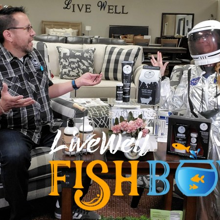 Javier Casillas and Melanie Keithley on Fishbowl Live Well Mattress & Furnishing Centres' weekly podcast about sleep, healthy living, shopping smart, all while laughing and having fun!