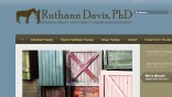 screenshot_ruthann davis phd | website design by Rockwell Art & Design | www.livewellrockwell.com