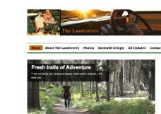 website design by Rockwell Art & Design | www.livewellrockwell.com the landrovers