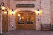 exterior of Brewery Becker