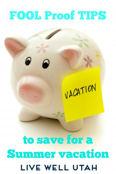 saving for summer vacation