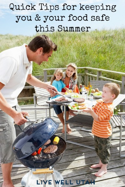 Safe tips for keeping food safe this Summer