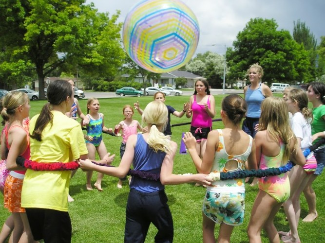 summer camp games usu