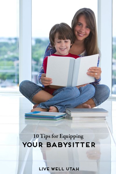 10 Tips for Equipping your Babysitter