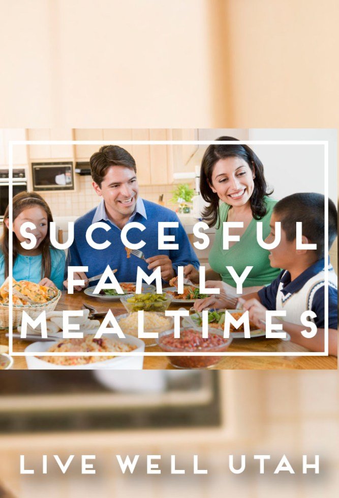 Successful Family Mealtime Graphic