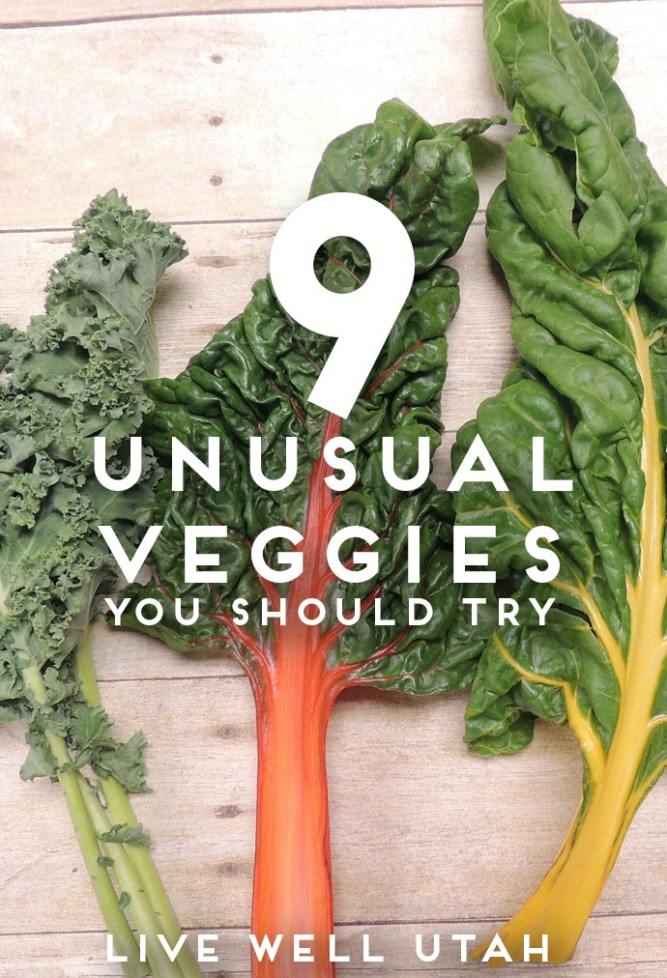 unusual veggies graphic
