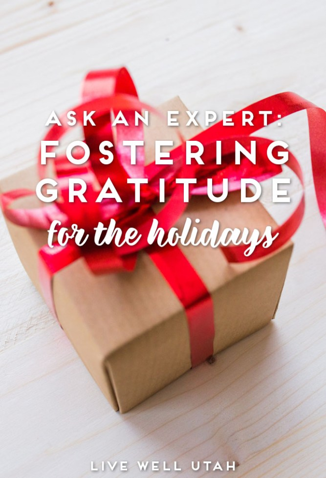Fostering Gratitude