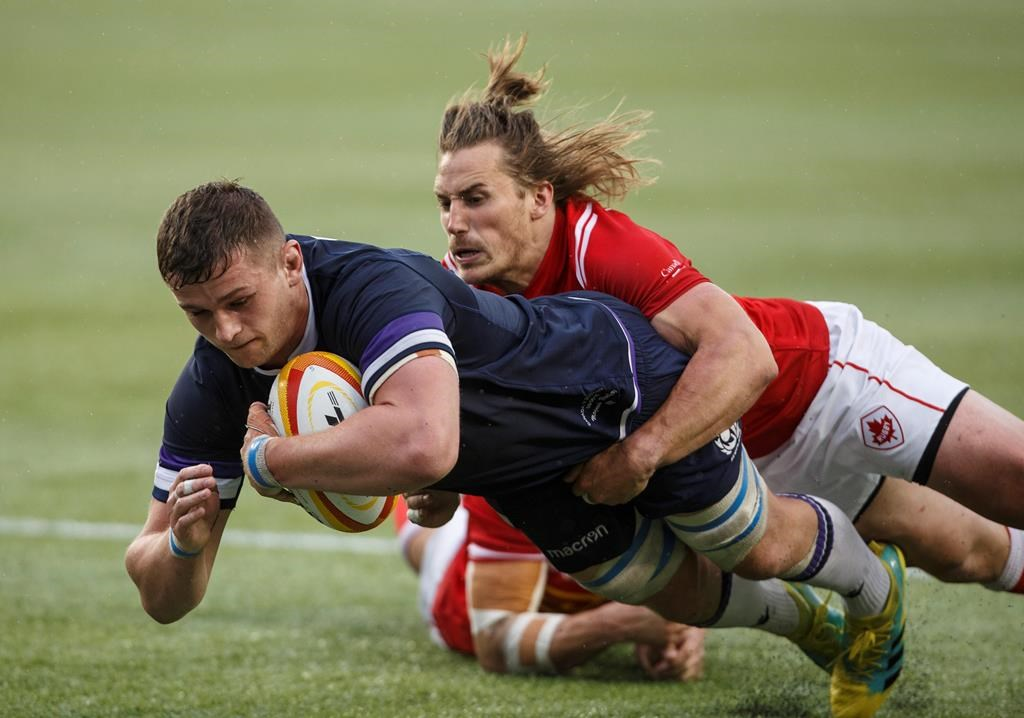 Scotland beats Canada 48-10 in Summer Series test match