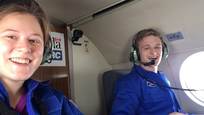 VIDEO: Calgary student experiences zero-gravity on the