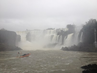 amazing - went in a boat similar to this one right up to the base of the falls