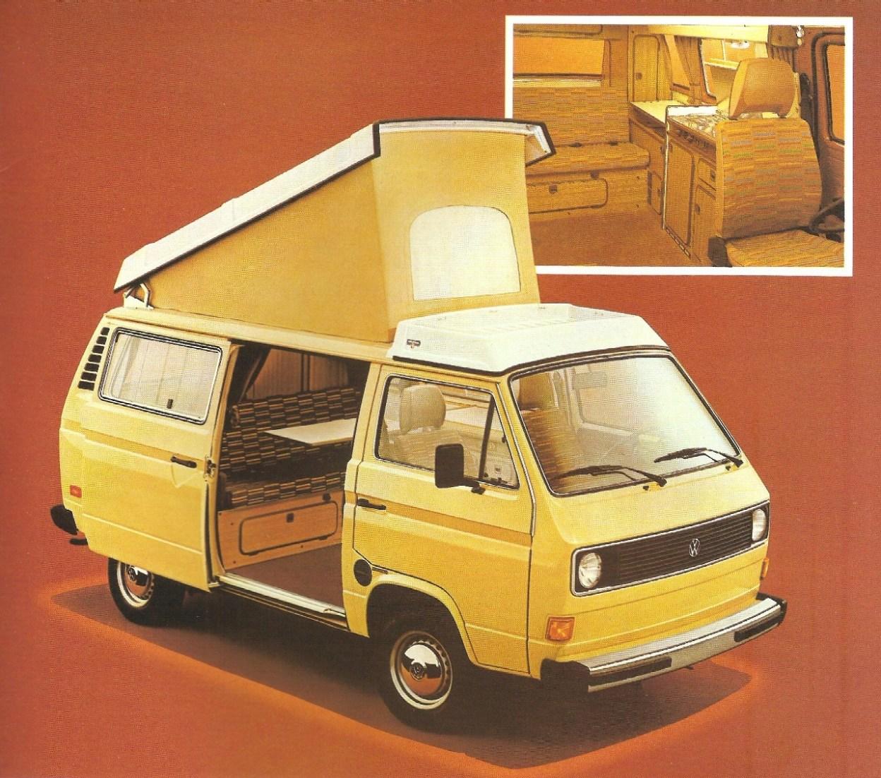 81 Vanagon Camper