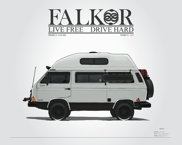 Falkor the Vanagon | Live Work Wander