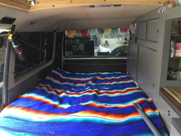 Bed in VW Vanagon